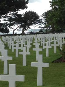 American Troops Cemetery in Normandy, France