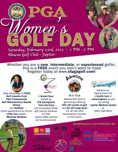 NEW Women's Golf Day Flyer