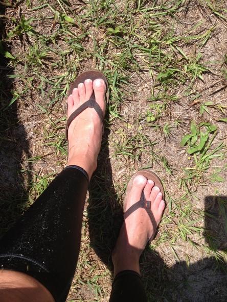 More wet feet!