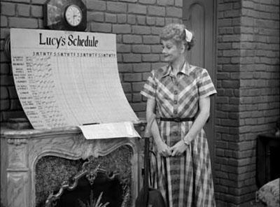 Lucys Schedule