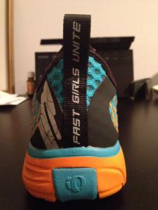 Tri specific shoes from the best sponsor: Pearl Izumi!