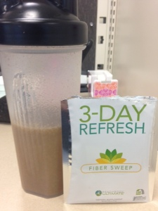 3-day refresh fiber sweep